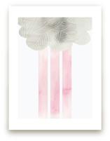 Cloud and rain Art Prints