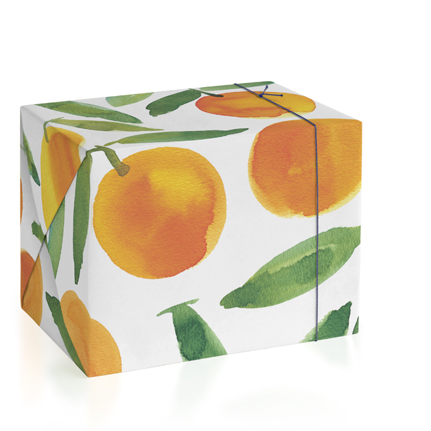 Sweet oranges Wrapping Paper