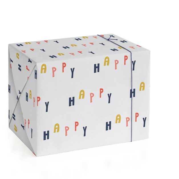 HAPPY Wrapping Paper