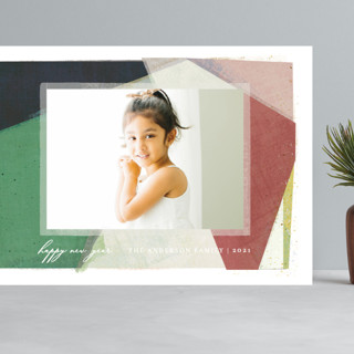 Color Collage Grand Holiday Cards