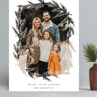 evergreen branches Grand Holiday Cards