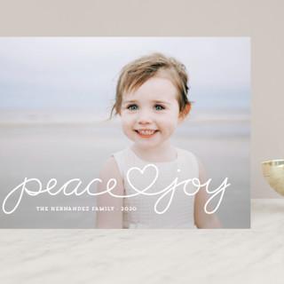 Peace Heart Joy Grand Holiday Cards