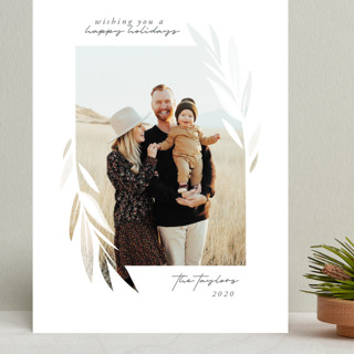 Blessed Leaves Grand Holiday Cards