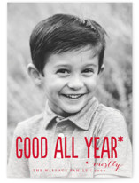 Good All Year Grand Holiday Cards