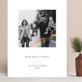 Rainbow Overlay Grand Holiday Cards