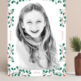 A little Mistletoe Grand Holiday Cards