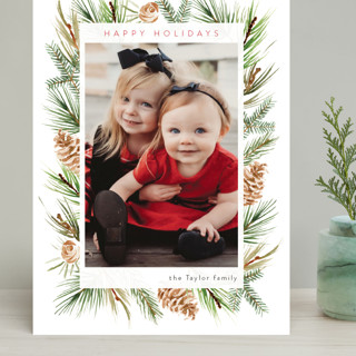 Winter Frame Grand Holiday Cards