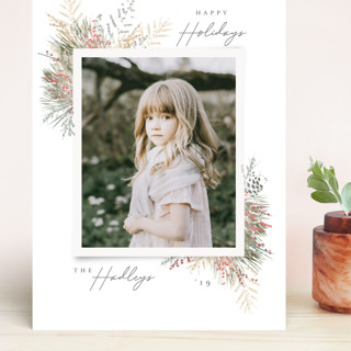 Forest Path Grand Holiday Cards