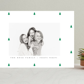 Preppy Little Trees Grand Holiday Cards