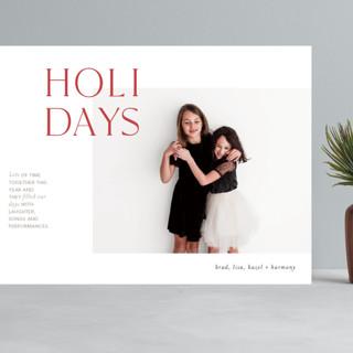 Joyful Edits Grand Holiday Cards