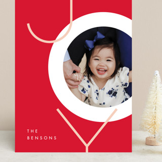 Boldly Modern Grand Holiday Cards