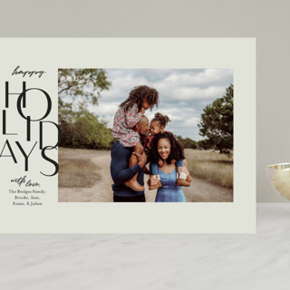 Gallery Type Grand Holiday Cards