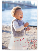 Simple Corner Grand Holiday Cards