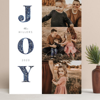 Decorated Joy Grand Holiday Cards