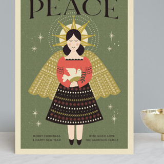 Peace Angel Grand Holiday Cards