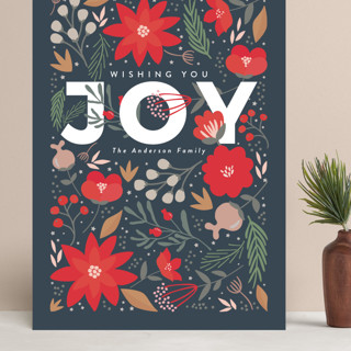 Floral Joy Grand Holiday Cards