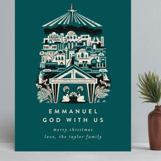 Mod Bethlehem Manger Grand Holiday Cards
