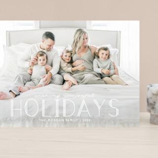Deco Christmas Grand Holiday Cards
