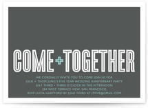 Come Together by Robert True of Waui Design