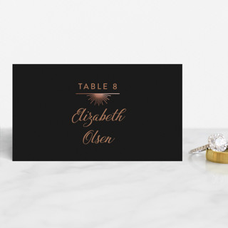 mandala Foil-Pressed Place Cards