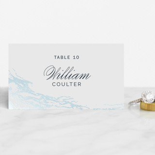 Classic Splash Foil-Pressed Place Cards