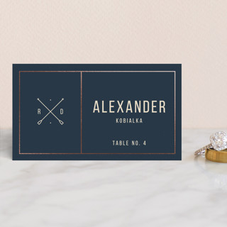 Nautical By Nature Foil-Pressed Place Cards