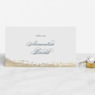 Gala Foil-Pressed Place Cards