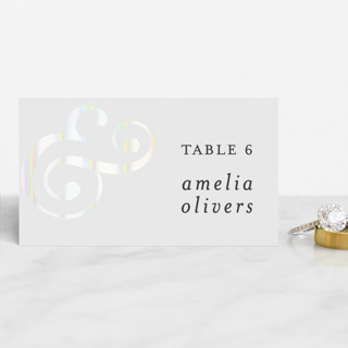 Classic Ampersand Gloss-Press® Place Cards