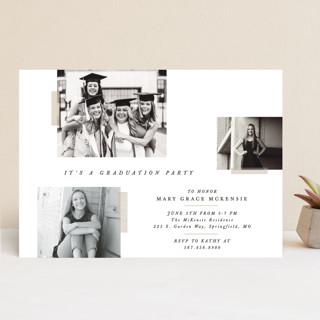 Memory Book Graduation Announcements
