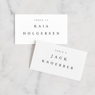 Johannis Wedding Place Cards