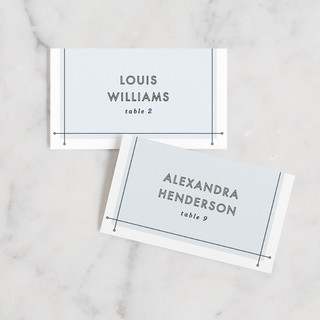 Me & You Wedding Place Cards
