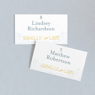 Once Upon Wedding Place Cards