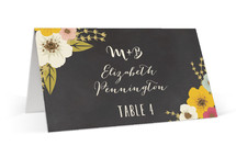 Plentiful Blossoms Wedding Place Cards