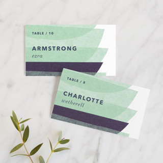 tissue union Wedding Place Cards