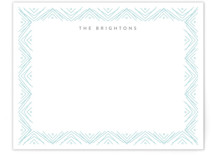 Sketched Border Personalized Stationery