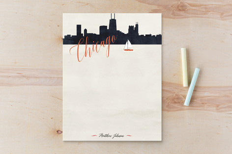Living the Dream - Stationary Personalized Stationery