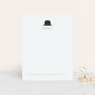 Top Hat Personalized Stationery