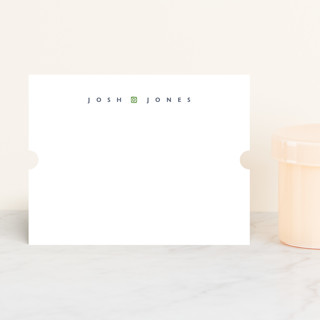 simple name Personalized Stationery