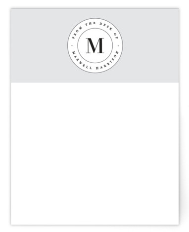 Monogram Seal Personalized Stationery