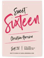 Sweet and Sassy Sixteen by Christine Sullivan Houlihan