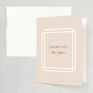 Timeless Love Bridal Shower Thank You Cards