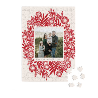 Floral Spray 252 Piece Custom Puzzle