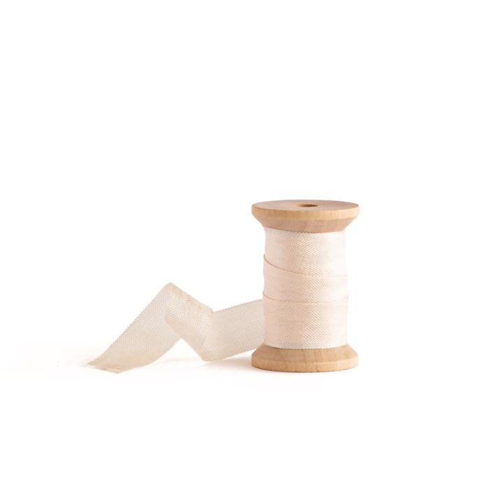 Blush Shimmer Ribbon