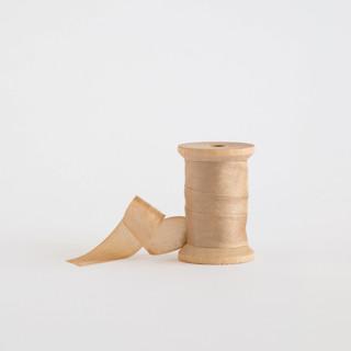 Tan Shimmer Ribbon