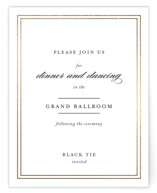 Eloquence Foil-Pressed Reception Cards