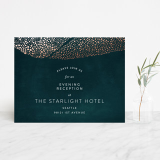 The Milky Way Foil-Pressed Reception Cards