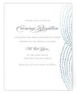Bespeckle Foil-Pressed Reception Cards