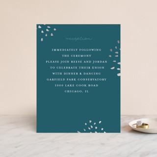 Modern Muse Foil-Pressed Reception Cards