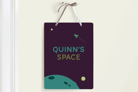 Space is For Kids Room Decor Signs