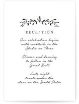 Charleston Reception Cards